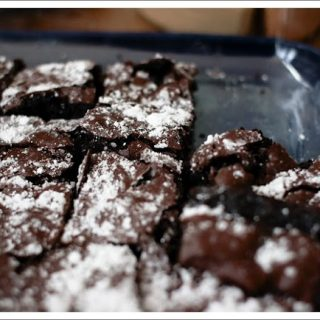 Brownies (contains dairy, contains gluten)