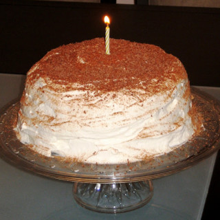 Tiramisu Cake (gluten-free option, contains dairy)