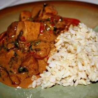Red Thai Curry (vegan, gluten-free)