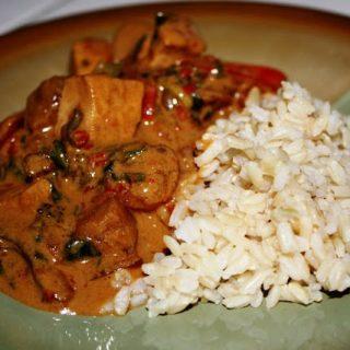 Red Thai Curry (vegan, gluten-free)