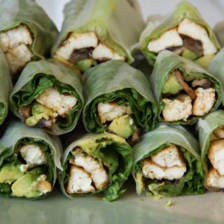 Fresh Summer Rice Wraps (vegan, gluten-free)