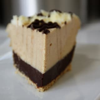 Black-Bottom Peanut Butter Mousse Pie (gluten-free option, contains dairy)
