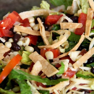 Santa Fe Salad (gluten-free, contains dairy)