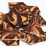 Reese's Peanut Butter Dark Chocolate Bark (gluten-free, contains dairy)