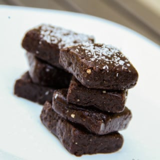 "Date-Nut Chocolate ""Fudge"" (vegan, gluten-free)"
