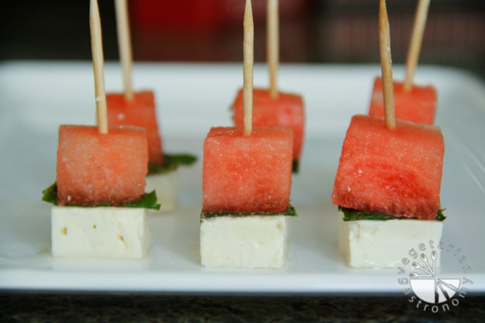 Watermelon Feta Cheese Skewers-1