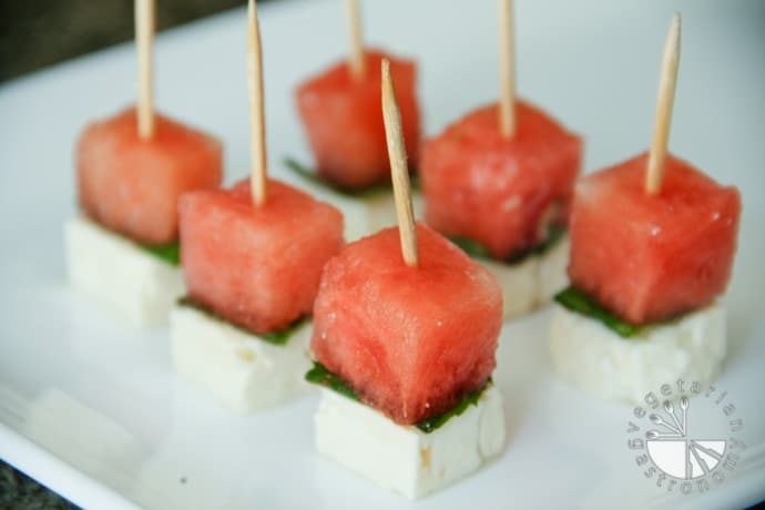 Watermelon Feta Cheese Skewers-2