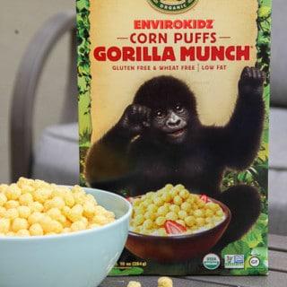 Product: EnviroKidz Organic Gluten-free Gorilla Munch Cereal