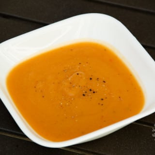 Opo Squash, Red Pepper, & Potatoe Soup (vegan, gluten-free)