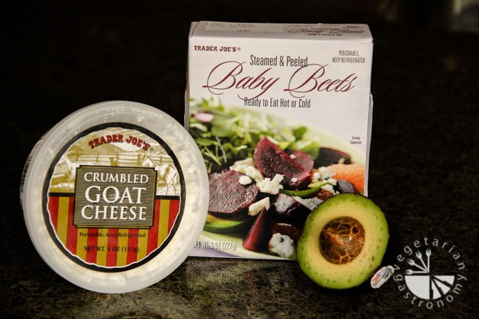 beet avocado goat cheese salad-1