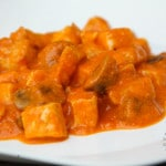 Indian Tomato Curry (gluten-free, contains dairy)
