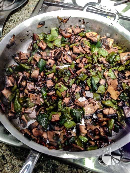 poblano mushroom quesadilla-10
