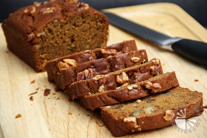 pumpkin walnut bread-7