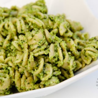 Broccoli Pesto (gluten-free, contains dairy)