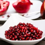 How To De-seed a Pomegranate (fast, easy, & mess-free)