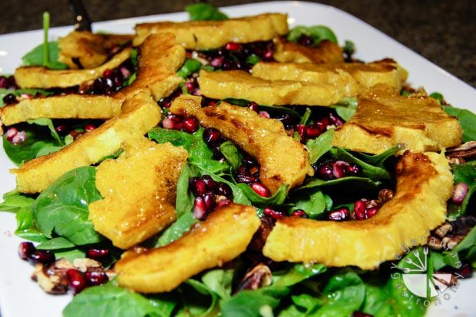 warm acorn squash salad a-7