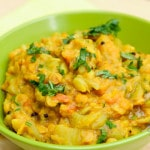Curried Opo Squash (vegan, gluten-free)