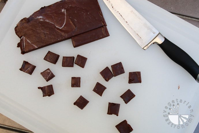 vegan chocolate fudge-3