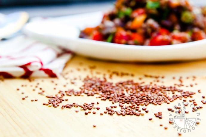 four bean quinoa veggie tacos-5
