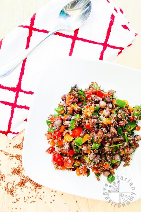 four bean quinoa veggie tacos-7