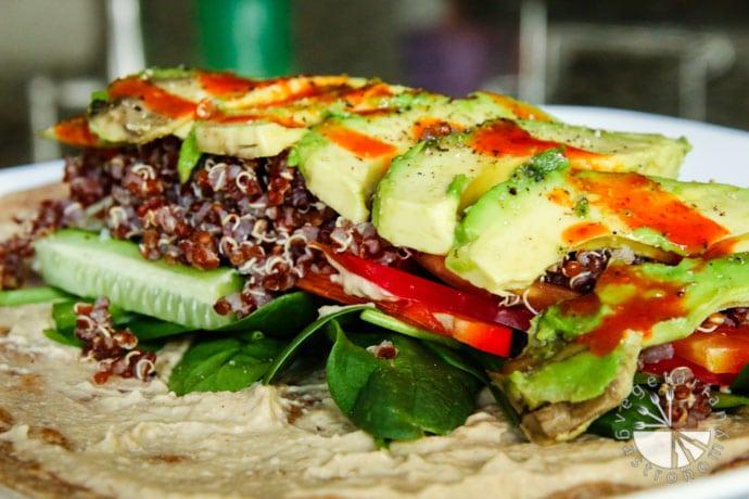 green lentil hummus-8