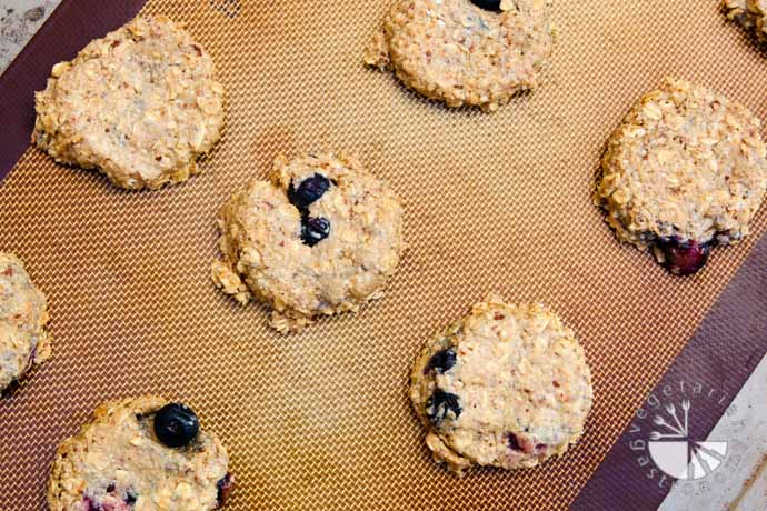 blueberry banana breakfast cookies-4