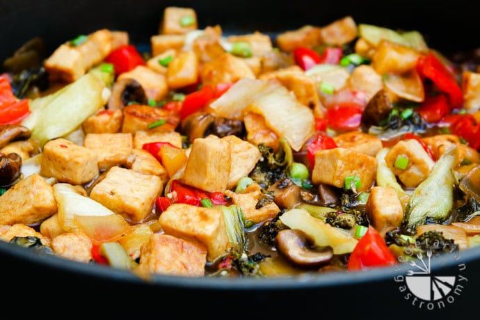 sweet and sour tofu veggies-6