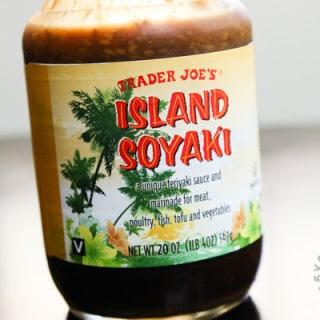 Product: Trader Joe's Island Soyaki (vegan, contains gluten)