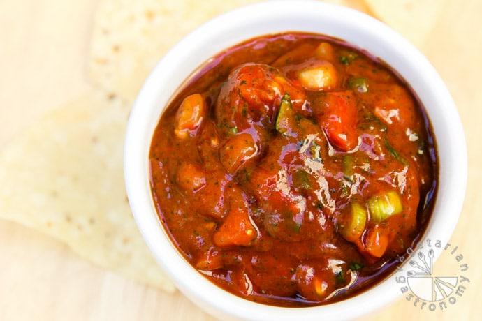 chunky tomato salsa-5
