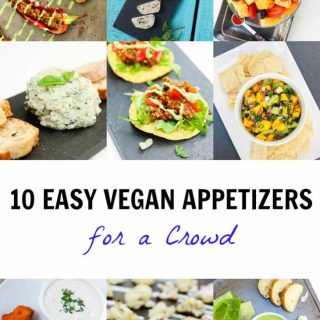 10 Easy Vegan Appetizers for a Crowd