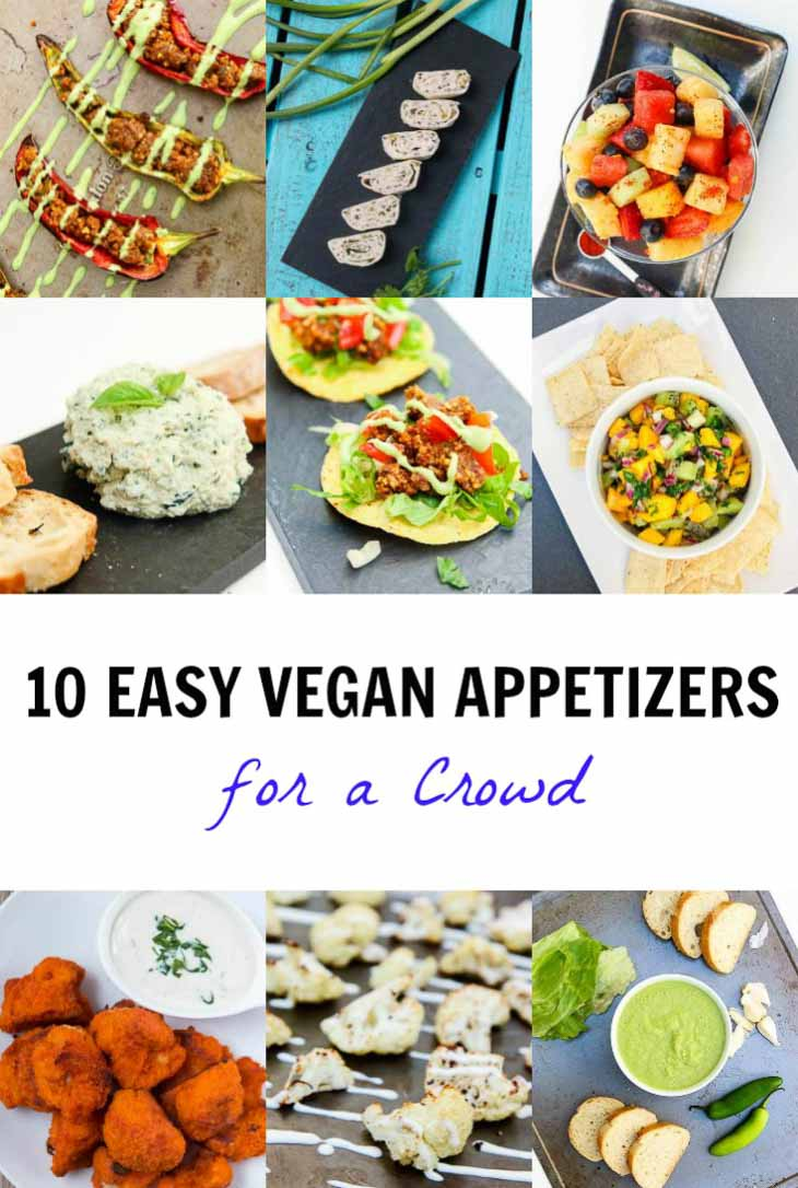 10 easy vegan appetizers for a crowd vegetarian gastronomy