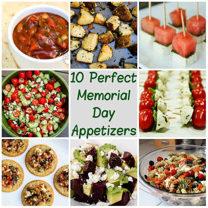 10 Perfect Memorial Day Appetizers