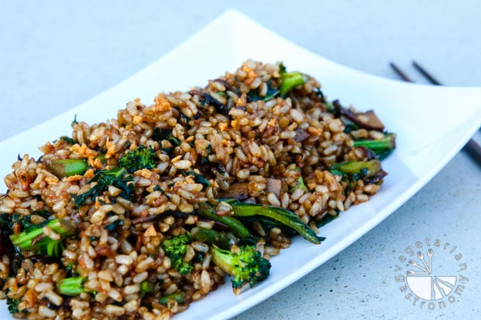 crispy garlic fried rice-8