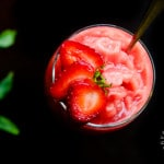Watermelon Strawberry Mint Freeze (vegan, gluten-free)