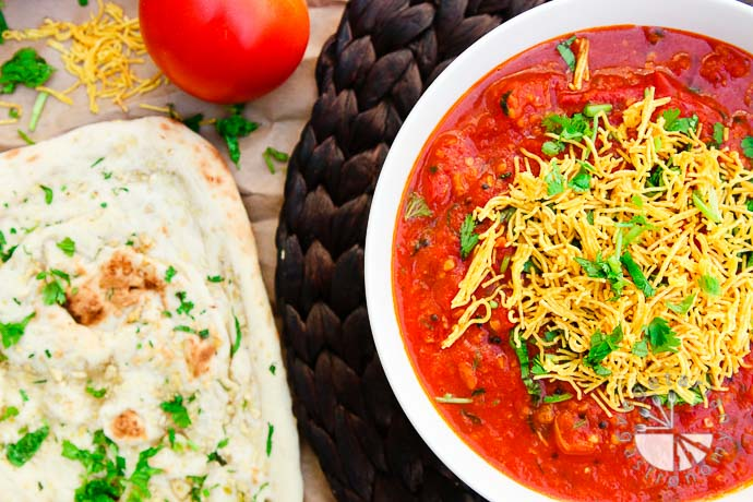 tomato sev curry-10