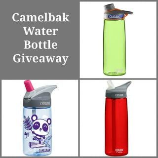 Giveaway: Camelbak Water Bottles