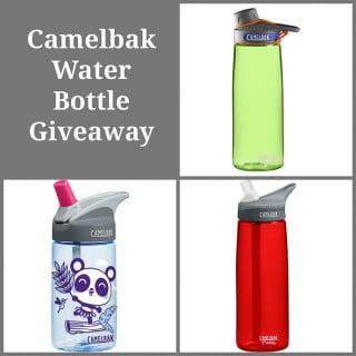 Giveaway: Camelbak Water Bottles
