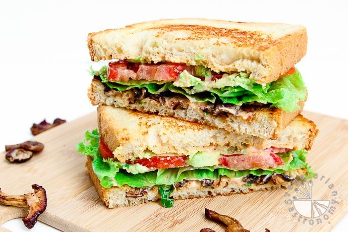 crispy mushroom sandwich-7