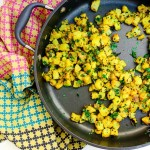 Lemony Potato Masala (vegan, gluten-free)