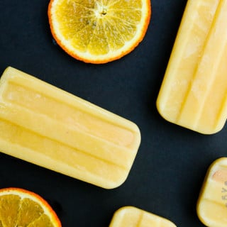 Orange Julius Popsicle (vegan, gluten-free)