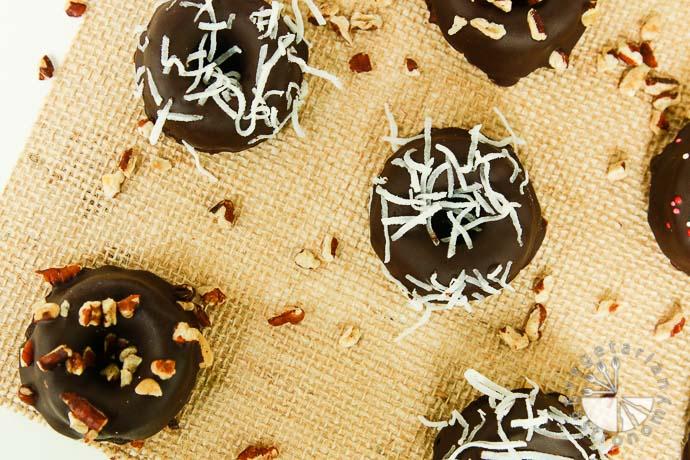 chocolate chia donut cakes-12