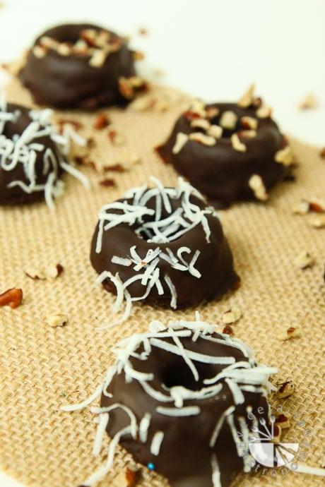 chocolate chia donut cakes-13