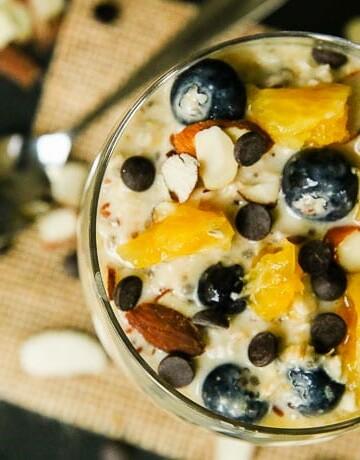 orange blueberry overnight oats-4