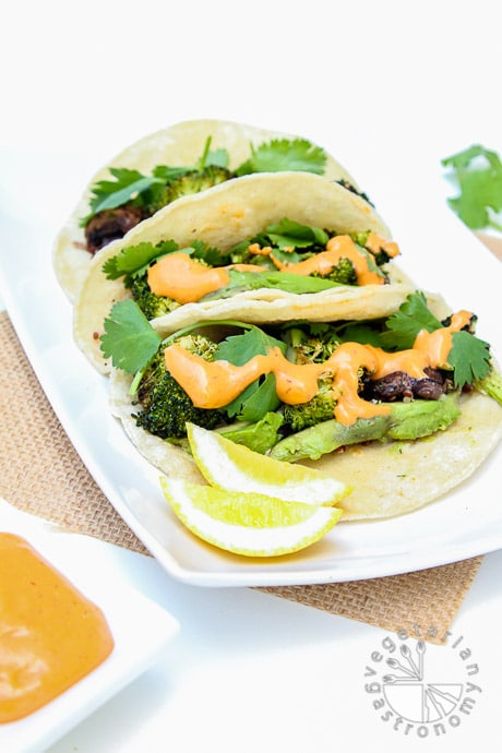 chipotle black bean roasted veggie tacos-1