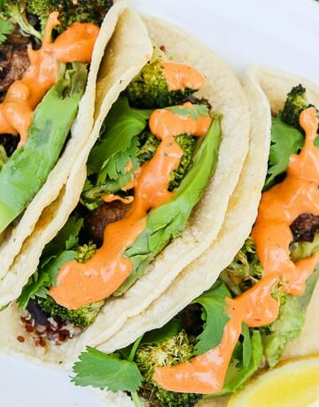 chipotle black bean roasted veggie tacos-3