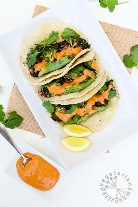chipotle black bean roasted veggie tacos-8