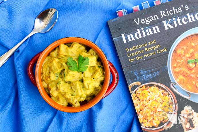 Mango Curry Recipe From Vegan Richa's Indian Kitchen, Review + Giveaway