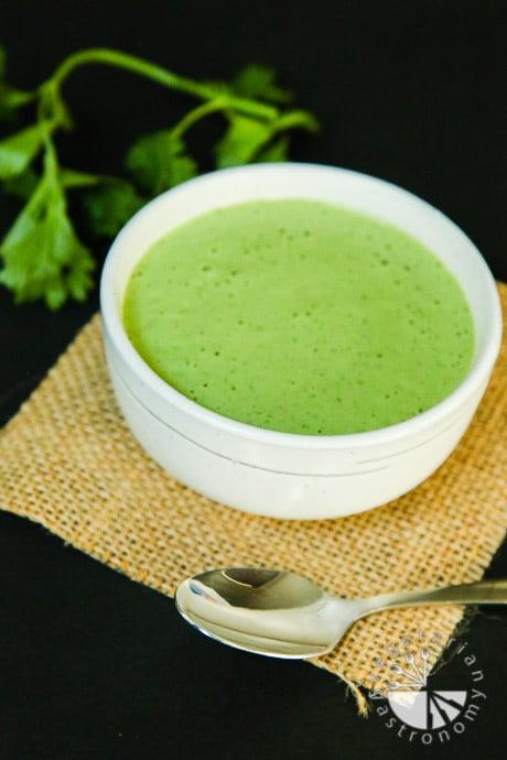 creamy cilantro tahini sauce-1