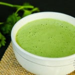 Creamy Cilantro Tahini Sauce