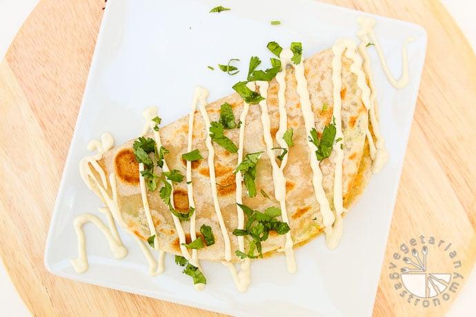 hummus avocado quesadillas-5